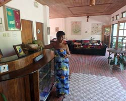 Regina Dumas, owner and manager of the Cuffie River Nature Retreat